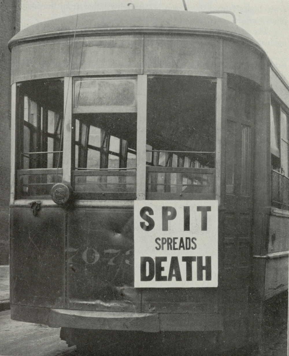 The germ theory of disease was widely accepted by 1918, and centuries of observation informed medical science about the elemental causes of contagion. The advice on a Philadelphia streetcar was pithy and could be taken as prudent even when pandemics were not in play.