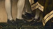 Jefferson's strange stance as an example of John Trumbull's eccentric draftsmanship